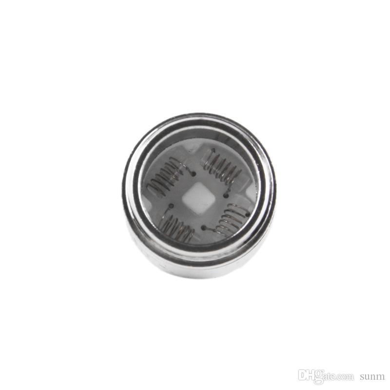 2018 Evolve Plus XL Cera QUAD Bobina Quadz Quatz Varillas bobinas con tapa de bobina Para el kit de pluma Evolve Plus XL vs bobina cargada DHL 0266167
