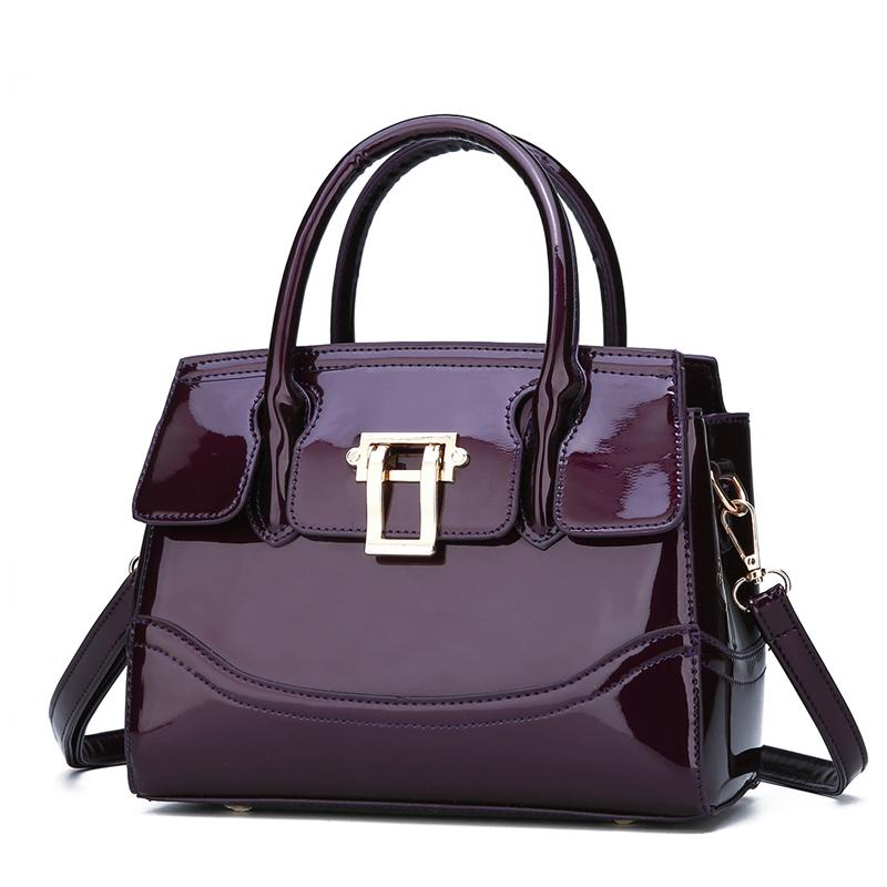 70e7598266b Luxury Handbags Women Bags Designer Glossy Patent Leather handbags Women  Shoulder Bag Female crossbody messenger bag sac a main