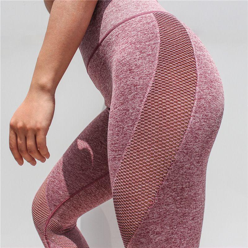 b0a057260a96 2019 High Waist Yoga Capris Pants Women S Sport Fitness Power Flex Yoga  Pants Running Stretch Yoga Leggings Tummy Control Workout S L From  Sarahzhang2018