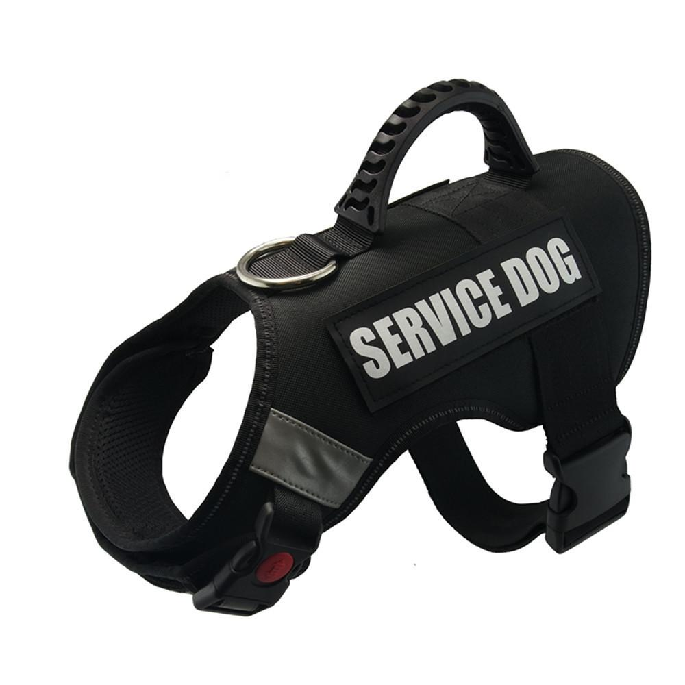 Dog Vest Harness For Service Dogs Premium Comfortable Padded Dog