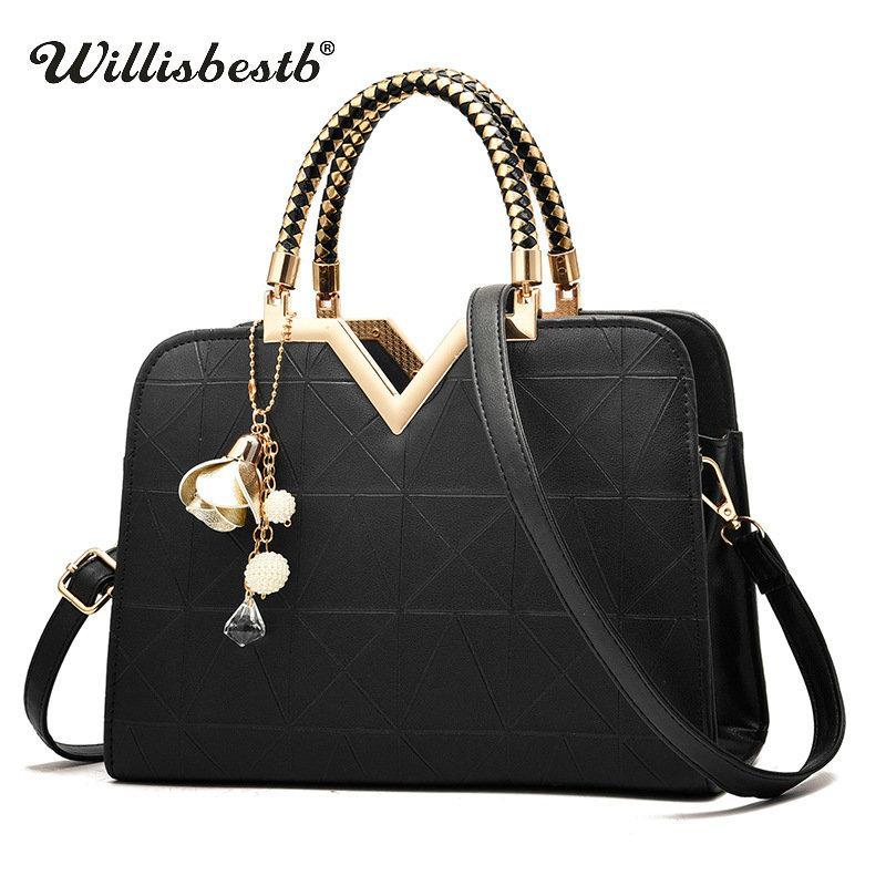 d468c05b60 Hot Sale 2018 Summer Women Handbag Luxury Shoulder Bag Casual Leather  Female Messenger Bag Designer Colorful Lady Crossbody Bags For Women Cheap  Designer ...