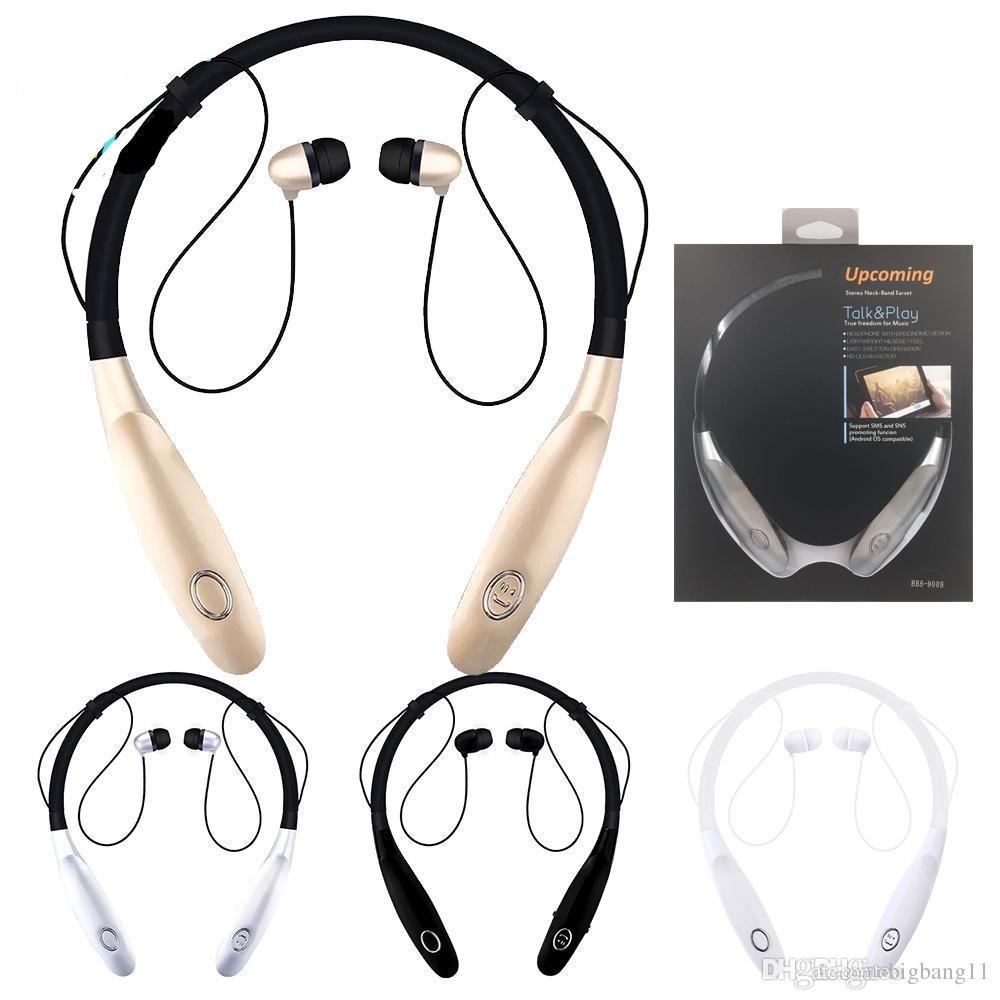 bef8bcd9a72 Sport Bluetooth Earphone Hbs 900s Portable Headphones 900X Wireless ...