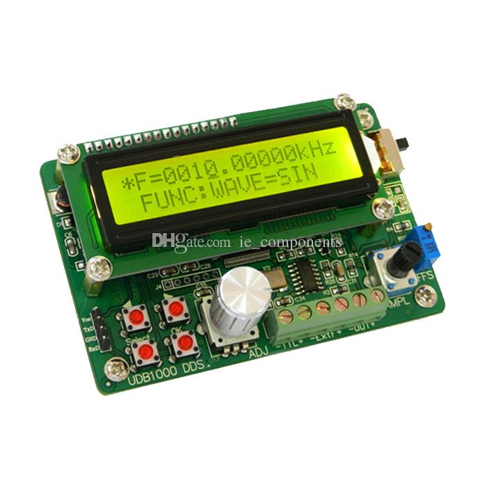 DDS Function Signal Generator DDS Arbitrary Waveform Function Signal  Generator DIN Kit, Signal sources, 60MHz Frequency meter