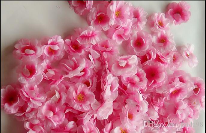 Simulation Pfirsichblüte Blume Seide Blume Pflaumenblüte Baum Hochzeit Foto Requisiten headwear gefälschte Blume L102