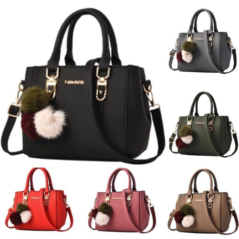Nevenka Women Bag Pu Leather Tote Brand Name Bag Ladies Handbag Lady  Evening Bags Solid Female Messenger Bags Travel Fashion Sac Hobo Bags  Ladies Handbags ... c34a415d317ee
