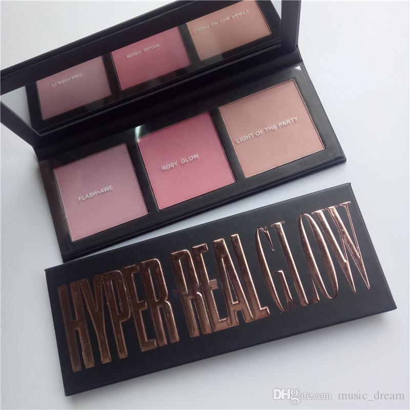 New hot selling HYPER REAL GLOW PALETTE GET highlighter blush IT GLOWIN OR FLASH+AVE PICK YR BNIB DHL