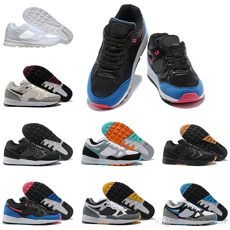 cheaper 286ab da1c9 Großhandel Nike Air Span II Männer Schuhe 2018 Neue Laufschuhe SPAN II  Schuhe Turnschuhe Mode Paar Low Günstige Mesh Outdoor Männlichen Sport  Größe 40 45 ...