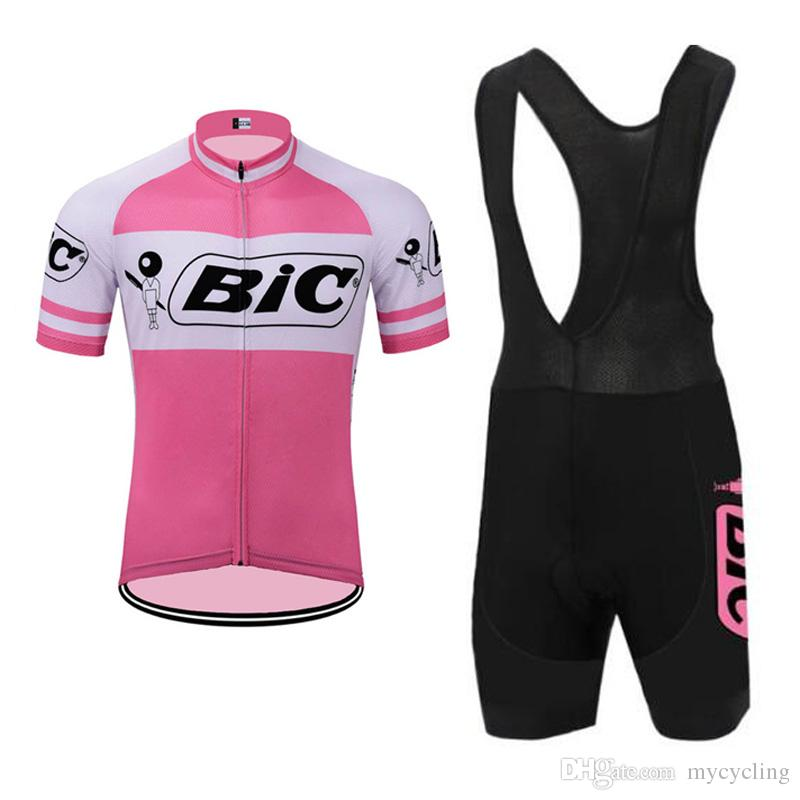 2018 New BIC Mens Cycling Jersey Set Summer Breathable Road Bike Clothing  Short Sleeves MTB Bicycle Shirts 3D Bib  Shorts Sportswear F2903 Cycling  Apparel ... 759ea2813