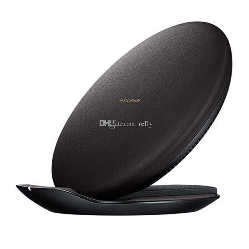 Fast Quick Charge Wireless Chargers Convertible Faster Charging 5V For Cell Phone Samsung Galaxy S7 Edge S8 Plus Note5 DHL Shipping