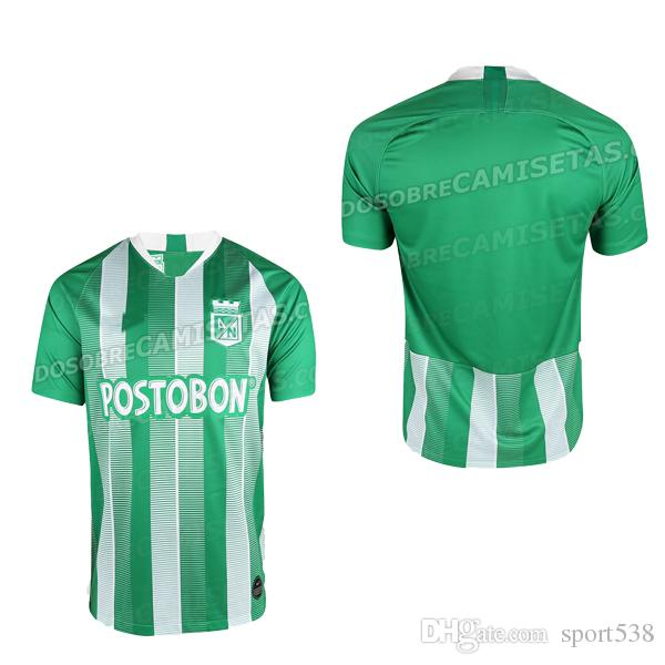 2019 18 19 Colombia Atletico Nacional Medellin Home MBAPPE 7 Soccer Jersey  2018 2019 Atletico Nacional Medellin Away Football Shirt Kit From Sport538 73e37437f
