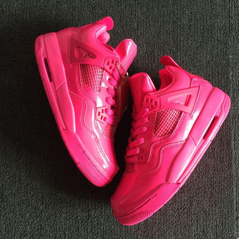 San 4 scarpe ginnastica ginnastica scarpe 4s rosa qualità da donna 2018 Valentino da IV alta del brevetto scarpe di sportive da GYM basket 7PxqCH