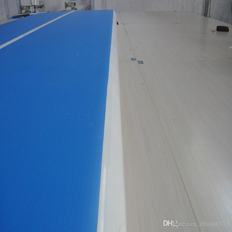 نفخ الجمباز فراش تراجع رياضة حصيرة العديد من حجم الهواء المسار حصيرة الهواء المسار الطابق نفخ حصيرة