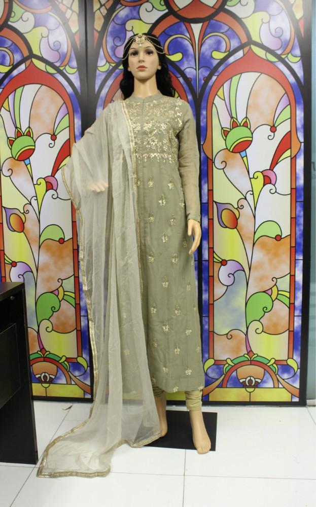 840005d91b 2019 THE SHIGNER Indian Bollywood Designer Hand Make Zardozi Floral Dress  Set Churidar Kurti Salwar Kameez Suit Ethnic Party Dress From Beautyjewly,  ...