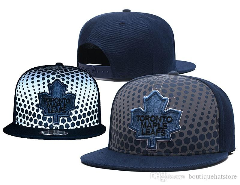 da84e10f846 Men S Hockey Toronto Snapback Hat Logo Embroidery Sport Green Color NHL  Adjustable Ice Hockey Caps Flat Baseball Hats Custom Caps Cool Caps From ...