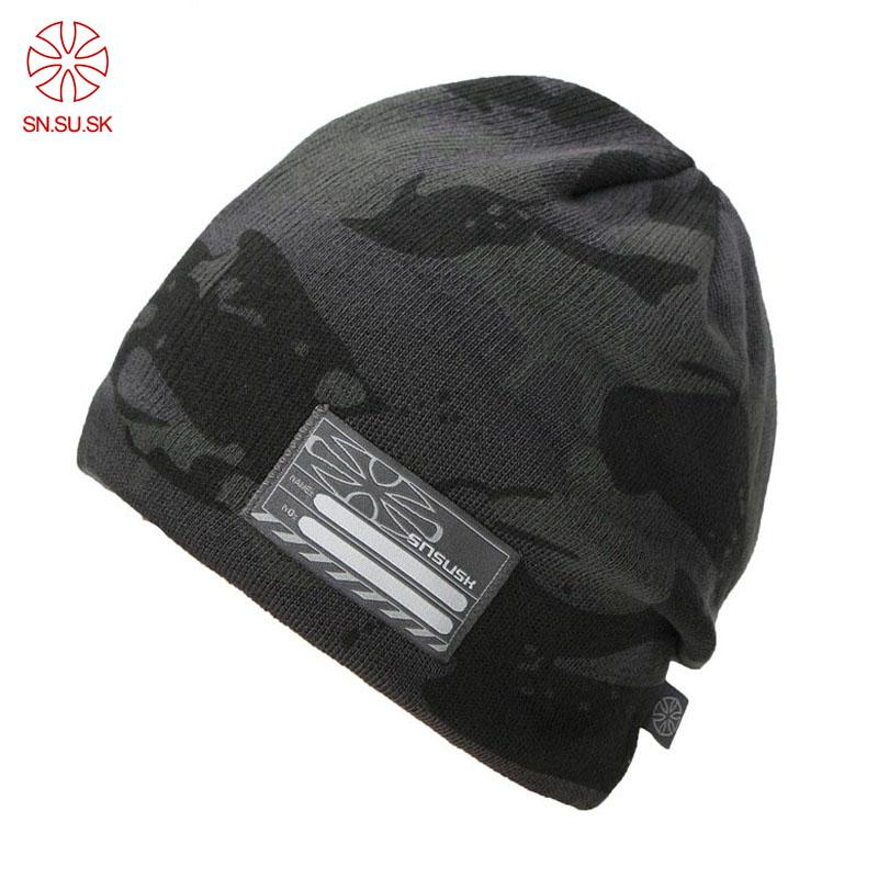 2019 2018 New Men Skiing Hats Warm Winter Knitting Skating Hat Beanies  Snowboard Fleece Lined Ski Cap Counterterrorism Camo Caps From Godefery 332ca4a105ed