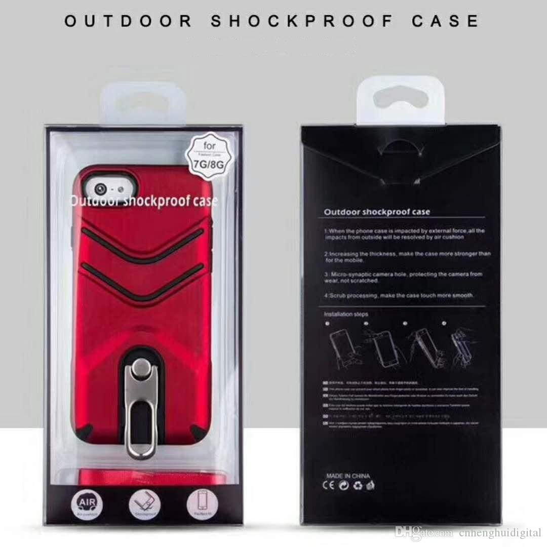 Phone Case For Iphone samsung Vivo OPPO HUAWEI prop PC metal 100% fit hard cool fashion stents