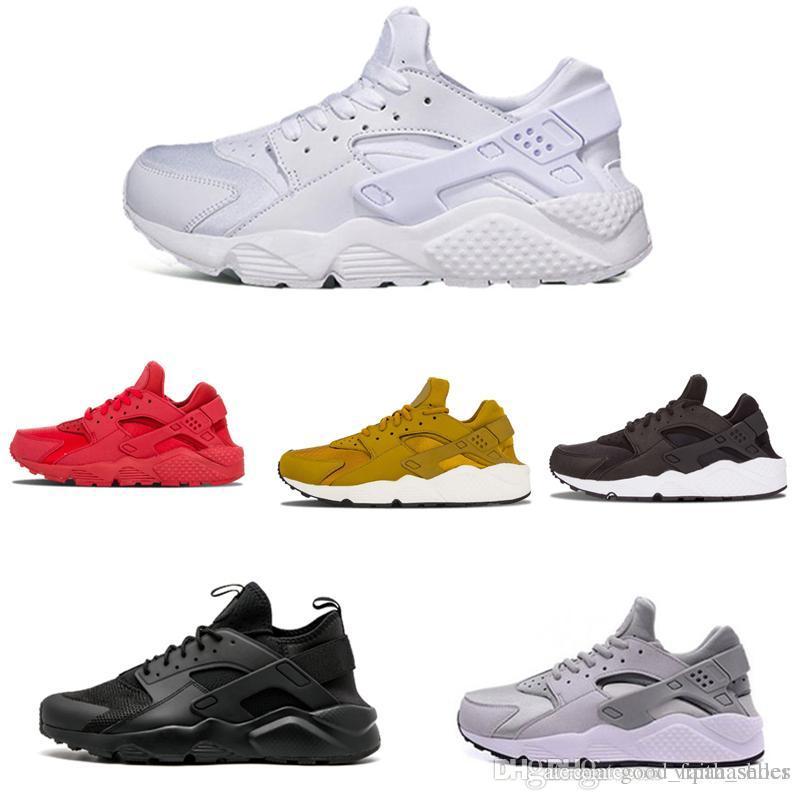 new product 0caa6 dceb4 Negozioo Scarpe Online Nike Air Max Supreme Off White Vapormax Nike Nmd  Nuovo Design Triple Bianco Nero Rosso Huraches 4.0 IV Grigio Oro Da Uomo  Donna ...