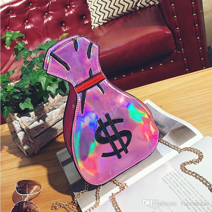 Vieeoease Girls Bag Cute Embroidery Chain Bag Purse 2018 Spring Fashion Handmade Kids Crossbody Bag EE-135