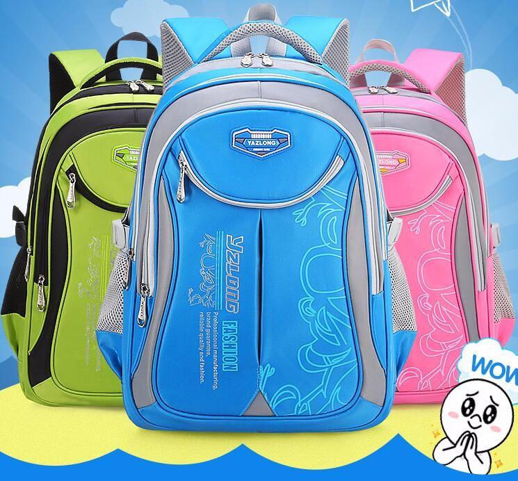 2018 Hot New Children School Bags For Teenagers Boys Girls Big Capacity  School Backpack Waterproof Satchel Kids Book Bag 2size Pregnancy Clothing  Online ... c5cbefd57f804