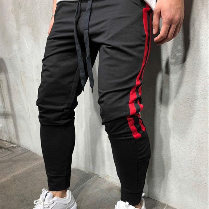 Acquista Autunno Nuovi Uomini Pantaloni Hip Hop Abbigliamento Sportivo  Fitness Jogging Pantaloni Mens Streetwear Pantaloni Da Ginnastica Palestre  Pantaloni ... 418985dbd803