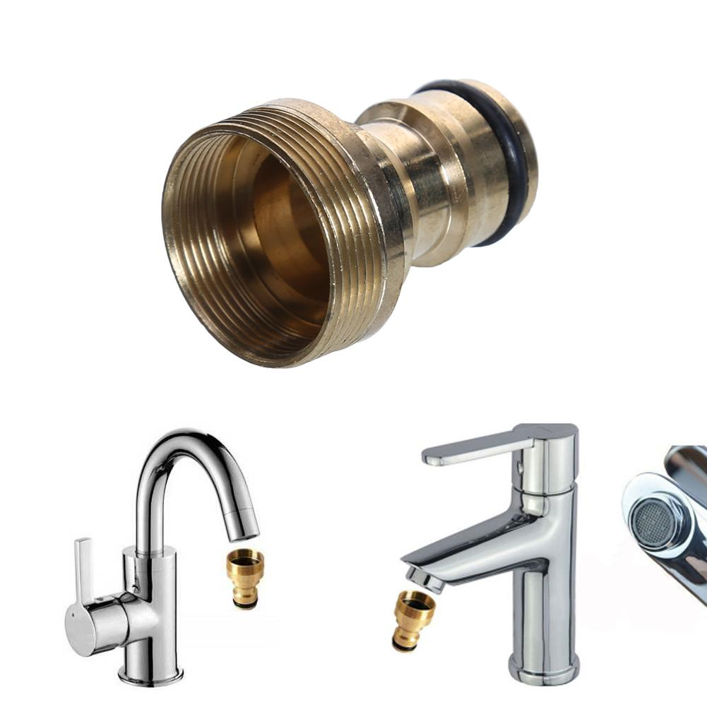 1PC Universal Hose Tap Connector Mixer Hose Adaptor Water Pipe Joiner Fitting Garden Water Connectors Watering Tools free shipping