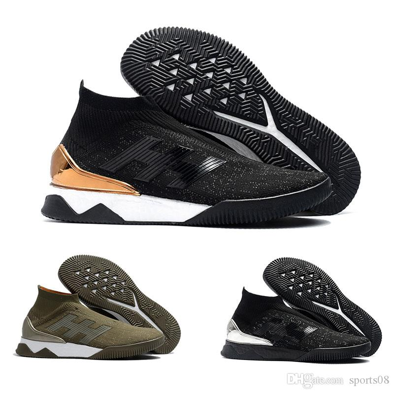 9f4114eef4e 2019 New Mens Predator Tango 18+TR UltraBoost Soccer Boots Mesh Training  Football Shoes Predator 18.1 FG Soccer Cleats Predator 18+FG Soccer Shoe  From ...