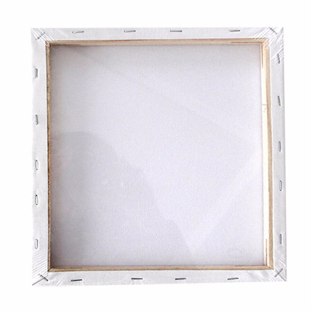 Acheter Petit Art Conseil Blanc Blanc Carré Toile Artiste Cadre En