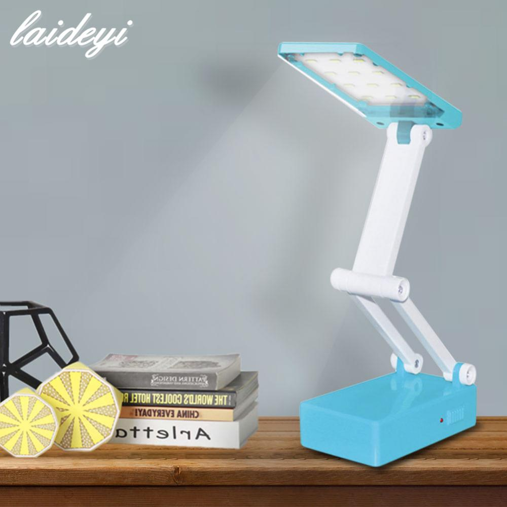 Best Laideyi 12 Led Dimmable Desk Lamps Foldable Built In Battery Table Lamp For Student Study Reading And Emergency Lighting Under 38 5 Dhgate Com