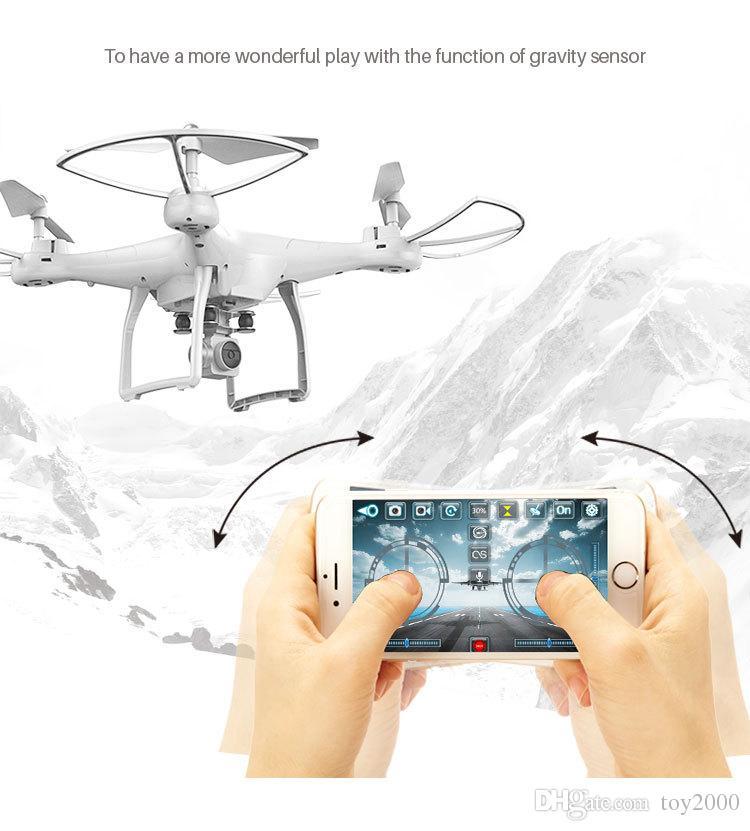 العلامة التجارية الجديدة X10 S10 أربعة محاور التصوير الجوي UAV هليكوبتر تحكم FPV بدون طيار UFO RC هليكوبتر RC بدون طيار مع الكاميرا
