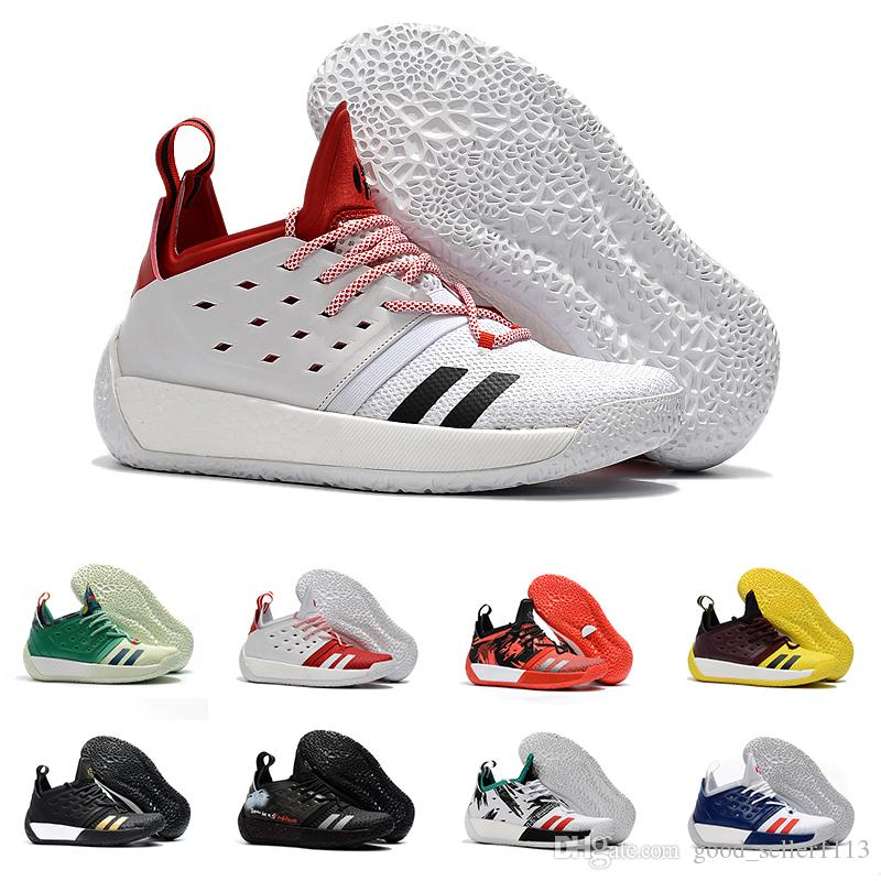 376b1896920 With Box James Harden Vol.2 Basketball Shoes For Men Fashion Black White  Red Green Orange Blue Grey Brown Wine Sports Sneakers Basketball Mens Shoes  From ...