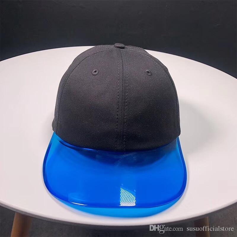 2018 New TPU Baseball Hats Unisex Clear Plastic Baseball Caps Adjustable  Snapback Cap For Women Men Mens Caps La Cap From Susuofficialstore 99a102fed82
