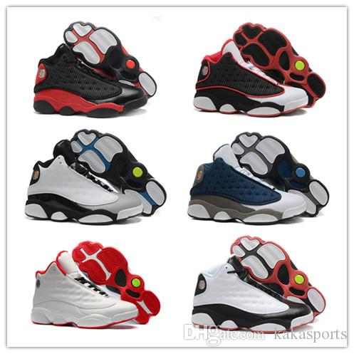 finest selection 27897 31e8a 13s BRED Basketball Shoes,CHICAGO 2017 Cp3 GREY TOE,HE GOT GAME INFRARED 23  Sport Shoes Women Trainers Cheap Athletics Sneakers Kids Sneakers Shoes ...