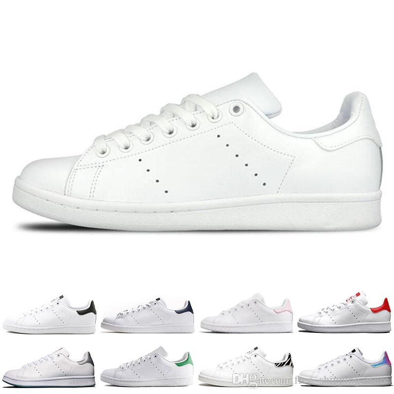 7a8d6786227 Designer Smith Men Women Casual Shoes Green Black White Blue Red ...
