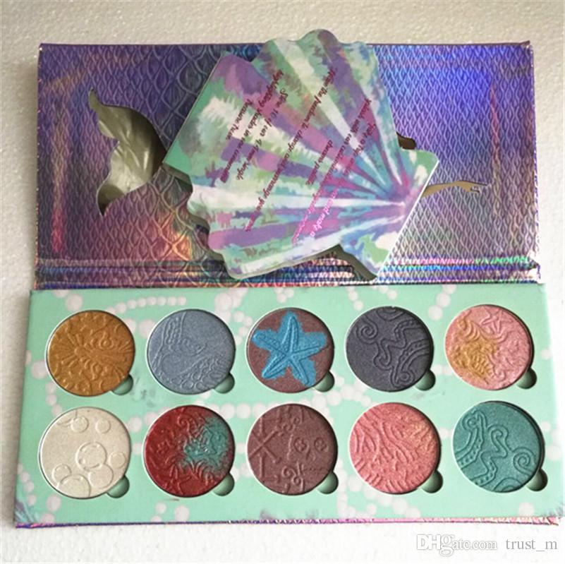 Bittee الدانتيل الجمال مستحضرات التجميل 10 ألوان تمييز لوحة العلامة التجارية الجديدة ظلال العيون لوحة ماكياج دي إتش إل الحرة