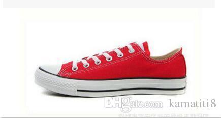 LIVRAISON GRATUITE NOUVELLE taille 35-45 Nouveau Unisexe Bas-Haut Haute-Adulte Chaussures pour femmes Hommes 14 couleurs Laced Up Chaussures Décontractées Chaussures Sneaker