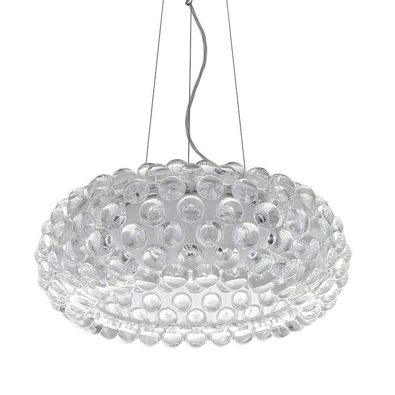 D35 / 50 / 65cm Sospensione moderna Foscarini Caboche Lampada a sospensione  in acrilico Fiamma leggera Lampada a sfera in acrilico ionico luce moderna  ...