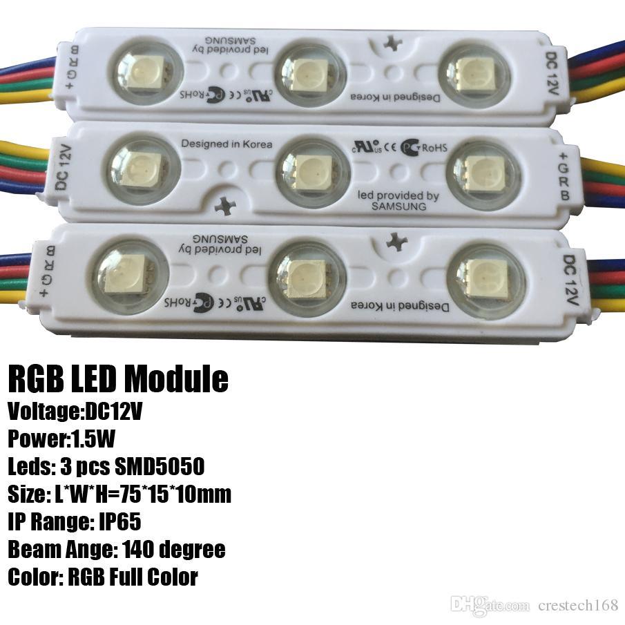 Wasserdichtes Modul der Einspritzungs-IP65 geführt Annoncieren Sie geführte Module des Buchstaben für geführte Hintergrundleuchte des Leuchtkasten-Kanal-Buchstaben, der Lampe annonciert