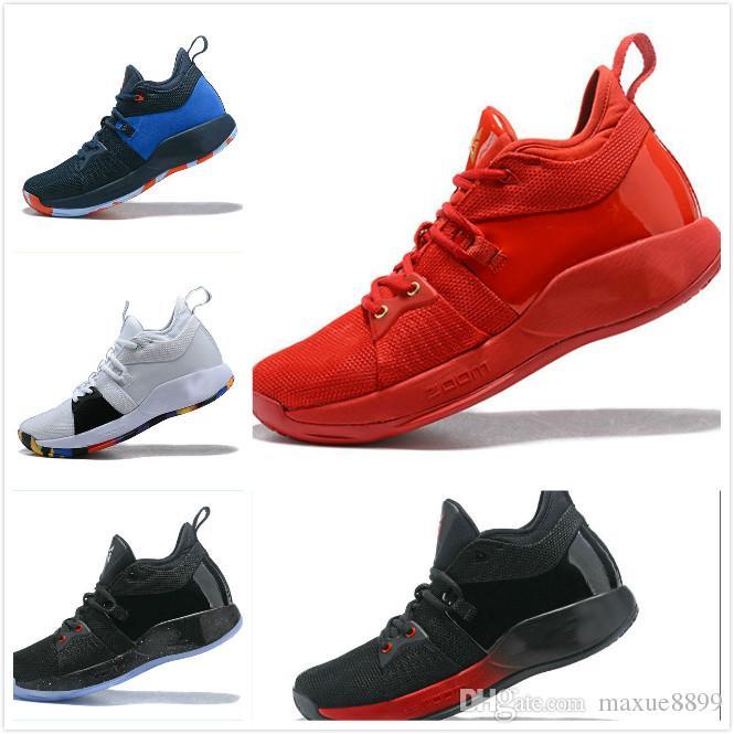 4905048f1fd3 ... 2018 high quality paul george 2 pg ii basketball shoes cheap top pg2  starry blue orange