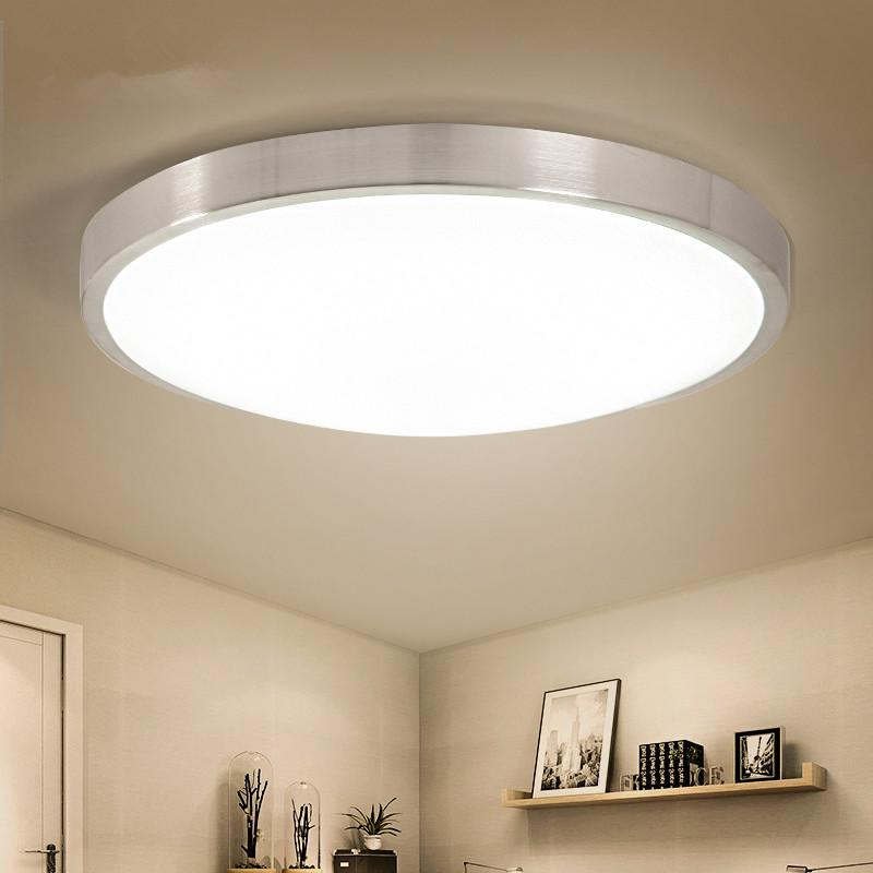 2018 modern led ceiling lights round light fixtures for kitchen