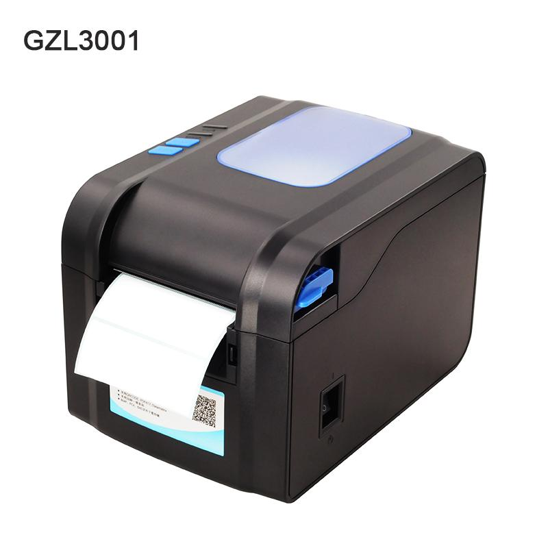 Thermal label printer USB 80mm Thermal Transfer Printer Receipt Barcode  80mm Print Width for Logistic Jewlery Retail