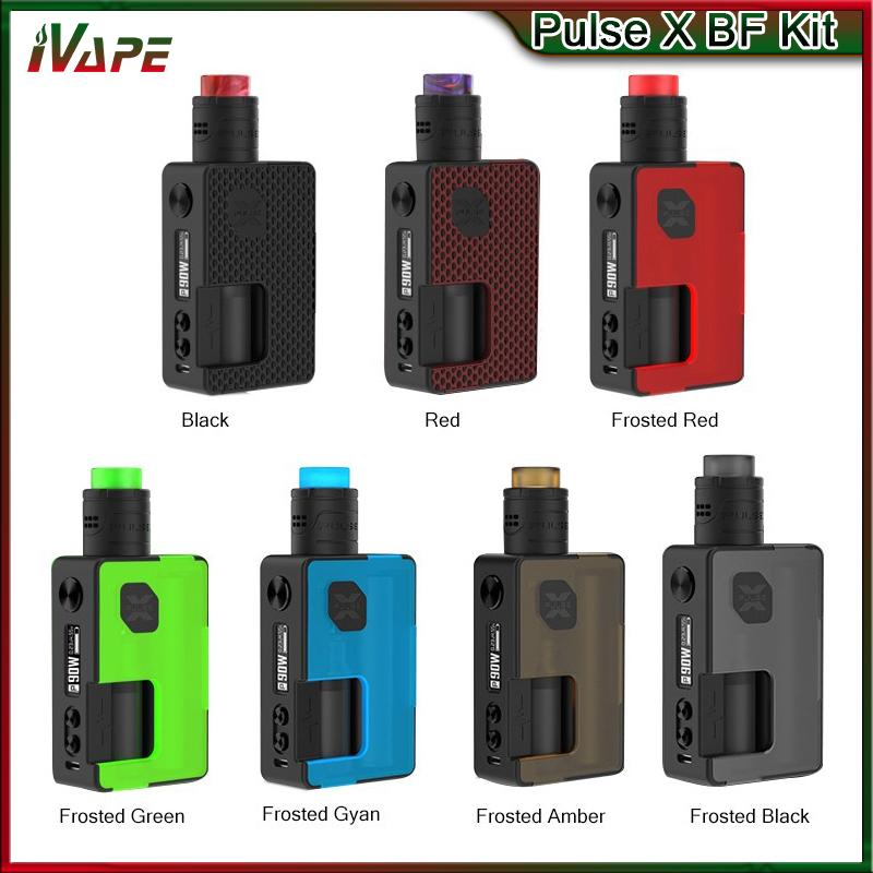 100% Original Vandy Vape Pulse X BF Kit with Pulse X BF RDA 8ml Squonk  Bottle & Pulse X BF Squonk Mod 90W