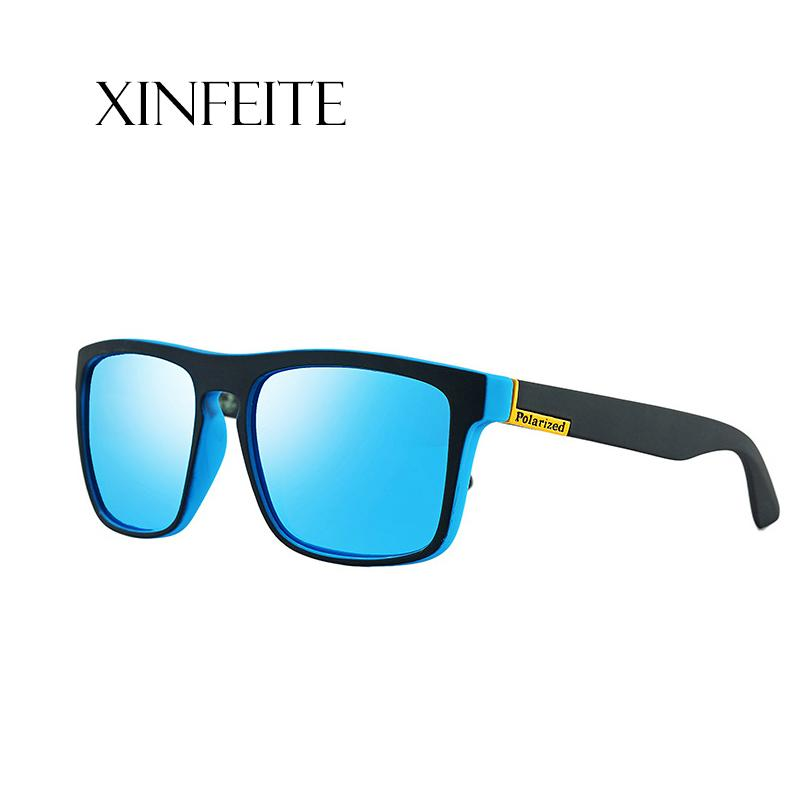 60527305b8b Xinfeite Sunglasses Trend Fashion Square Frame HD Lens Polarized ...