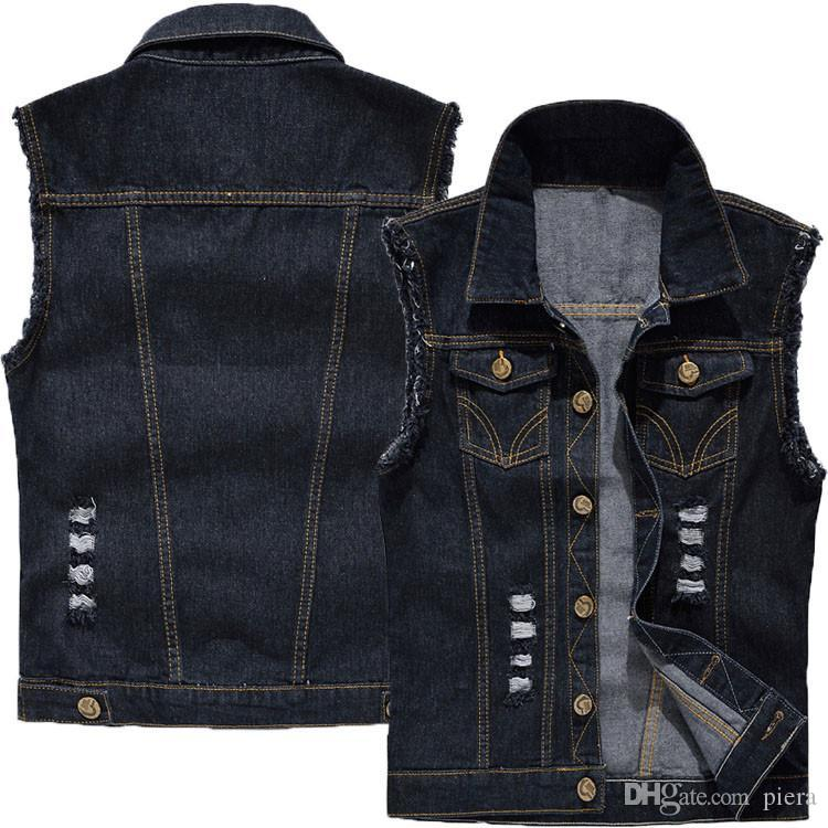 2018 Four Cowboy Vest Male Hole Sleeveless Costume High Quality Outwear Dancer Singer Performance For Show Bra Stage Nightclub Party From Piera ...  sc 1 st  DHgate.com & 2018 Four Cowboy Vest Male Hole Sleeveless Costume High Quality ...
