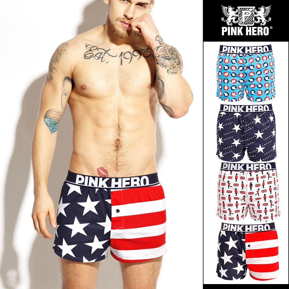98a23bd03a Elliehouse 2018 Best Sell Fashion Silk Underwear Men Lovely Cartoon Print  Man Boxers Homme Comfortable Underpants Soft Breathable Male Panti  Underpants Man ...