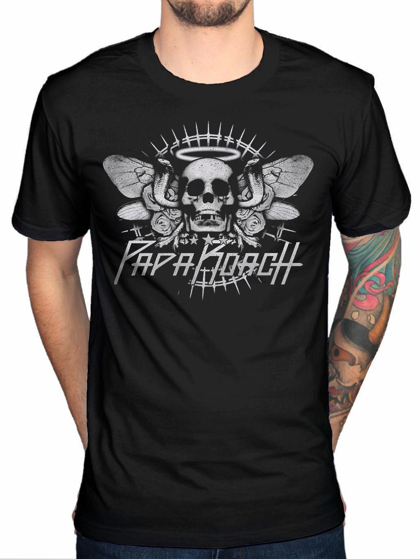 de5c7d32eb Compre Camiseta Oficial Papa Roach Cobra Rock Band F.E.A.R Jacoby Shaddix  Infest A $11.37 Del Lijian041 | DHgate.Com