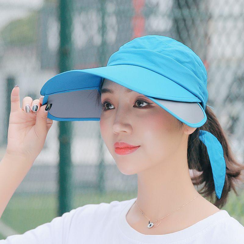 855c8f45018733 2018 New Hats Ladies Baseball Caps Summer Sunshade Sun Helmet Men's ...
