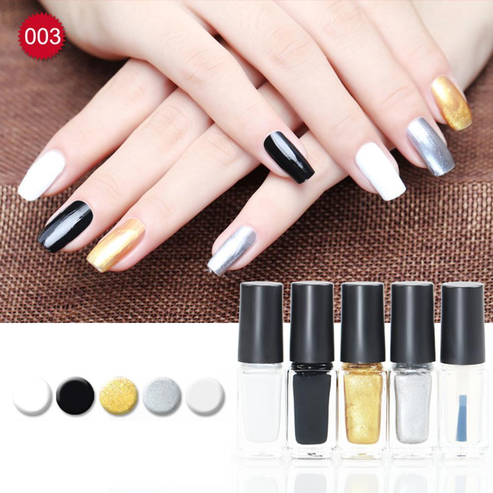 5ml Non Toxic Nail Art Polish Party Varnish Beauty Manicure Tool Diy