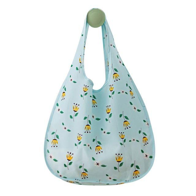 59b3b99b7b6 2019 Cute Reusable Shopping Bag Eco Friendly Grocery Bag Supermarket Mom  Shopping Tote Bag Foldable Fabric Travel Handbag From Sunninghu