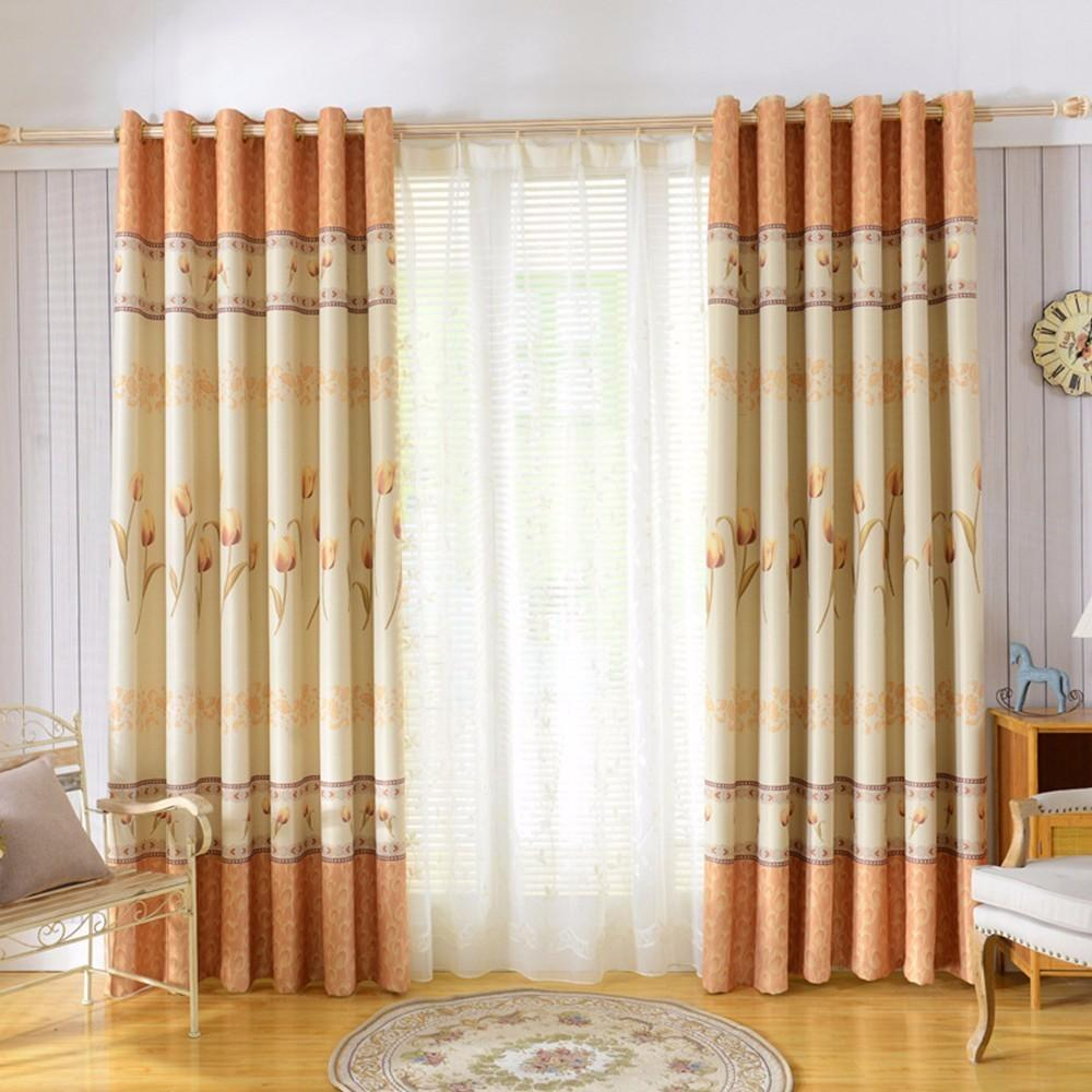 2019 2018 New Europe Tulip Design And Colour Curtains For ...