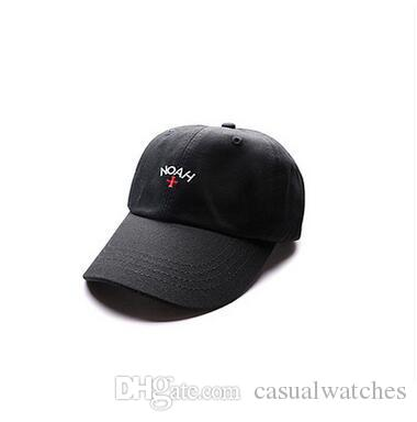85053bcf18f European US Fashion Brand NOAH Cross Embroidery Ball Caps Teenager  Stakeboard Classic Vintage Solid Caps Unisex Vogue Sport Hats Hats And Caps  Skull Caps ...